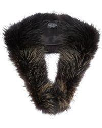Harrods | Raccoon Fur Collar, Brown, One Size | Lyst