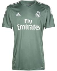 adidas - Real Madrid Home Goalkeeper Shirt - Lyst