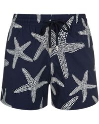 Vilebrequin - Starlette Glow-in-the-dark Moorise Swim Shorts - Lyst