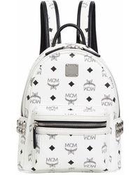 MCM - Mini Stark Stud Backpack - Lyst