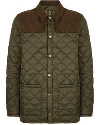 Barbour - Gillock Quilted Jacket - Lyst