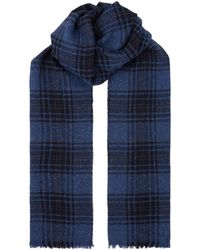 Corneliani - Checked Scarf - Lyst