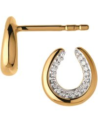 Links of London - Ascot Horseshoe Earrings - Lyst