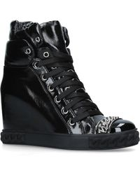 Casadei - Wedge Sneaker Boots - Lyst