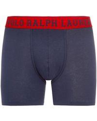 Polo Ralph Lauren - Logo Waistband Boxer Briefs - Lyst