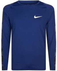 Nike - Camouflage Running Top - Lyst