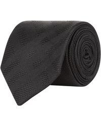 Burberry - Tonal Check Tie - Lyst