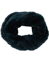 Yves Salomon - Large Rabbit Fur Snood - Lyst