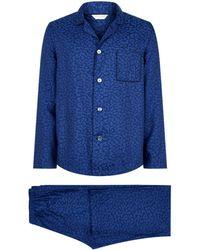 Derek Rose - Petal Print Pyjama Set - Lyst