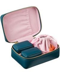 Stow - Leather Jewellery Case - Lyst