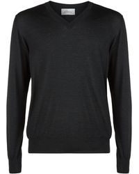 Brioni - Lightweight V-neck Sweater - Lyst