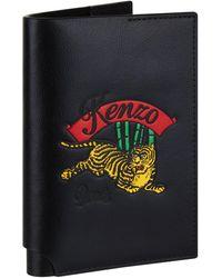KENZO - Jumping Tiger Passport Holder - Lyst