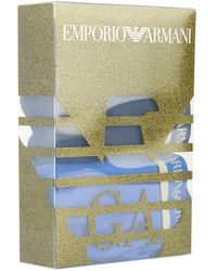 Emporio Armani - Logo Waistband Briefs (pack Of 2) - Lyst