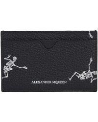 Alexander McQueen - Dancing Skeleton Card Holder - Lyst
