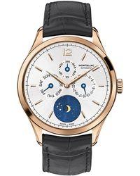 Montblanc - Heritage Chronomtrie Quantime Annuel Vasca Da Gama Limited Edition Watch - Lyst