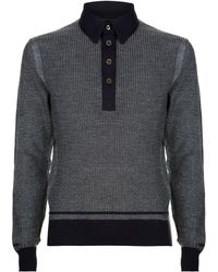 Tom Ford - Knitted Jacquard Polo Shirt - Lyst