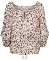 Denim & Supply Ralph Lauren - Boho Floral Blouse - Lyst