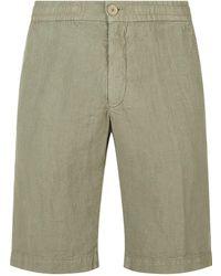 Ermenegildo Zegna - Linen Shorts - Lyst