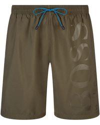 BOSS Green - Orca Swim Shorts - Lyst