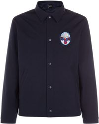 A.P.C. - Saul Logo Patch Jacket - Lyst