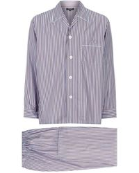 Harrods | Contrast Stripe Pajama Set | Lyst