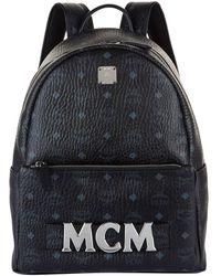 MCM - Stark Logo Backpack - Lyst