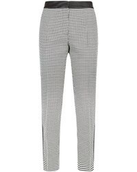 Claudie Pierlot - Houndstooth Trousers - Lyst