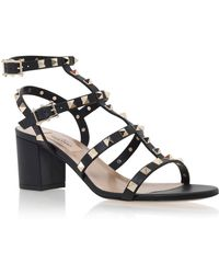 Valentino - Rockstud Leather 60mm Sandals - Lyst