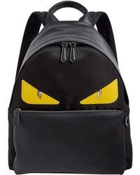 132433d961a0 Lyst - Fendi Logo Backpack in Brown for Men - Save 11%