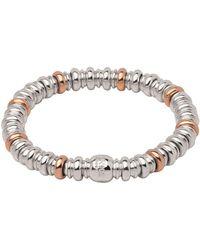 Links of London - Sterling Silver & Rose Gold Vermeil Sweetheart Bracelet - Lyst