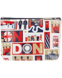 Harrods - Iconic London Travel Pouch - Lyst