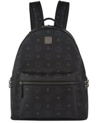 MCM - Small Stark Studded Backpack - Lyst