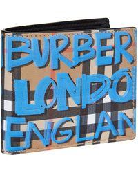 Burberry - Graffiti Sandon Card Holder - Lyst