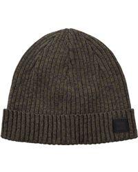 b1115c9ad3e BOSS Orange - Ribbed Beanie Hat - Lyst