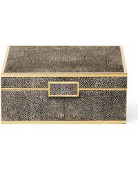 Aerin - Shagreen Small Jewellery Box - Lyst