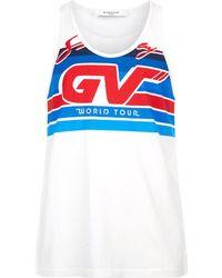 Givenchy - Motocross Logo Vest - Lyst