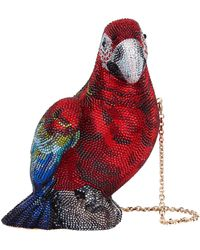 Judith Leiber - Crystal Parrot Clutch - Lyst