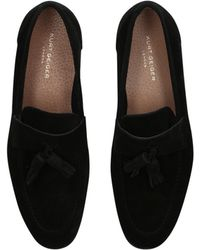 Kurt Geiger - Danza Slip-on Suede Loafers - Lyst