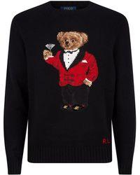 Polo Ralph Lauren - Bear Martini Sweater - Lyst