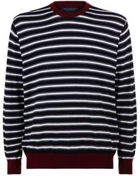 Paul & Shark - Multi-stripe Sweater - Lyst