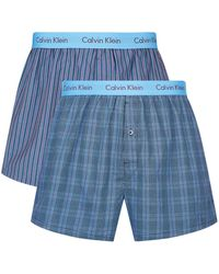 CALVIN KLEIN 205W39NYC - Slim Fit Boxers (pack Of 2) - Lyst