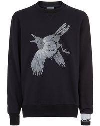 Lanvin - Embroidered Bird Sweatshirt - Lyst