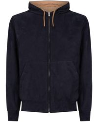 Brunello Cucinelli - Reversible Hooded Jacket - Lyst