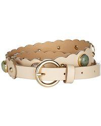 Sandro - Bead Embellished Belt - Lyst