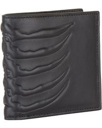Alexander McQueen - Leather Ribcage Wallet - Lyst