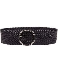 Andersons - Leather Weave Belt - Lyst