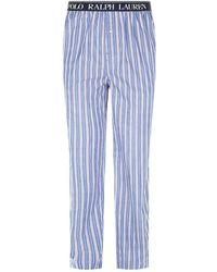 Polo Ralph Lauren - Contrast Stripe Sweatpants - Lyst
