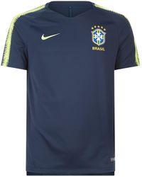 Nike - Brazil Fc Cbf Breathe Squad Football Top - Lyst