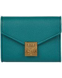 MCM - Patricia Park Avenue Leather Purse - Lyst
