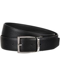 Canali - Textured Leather Belt - Lyst